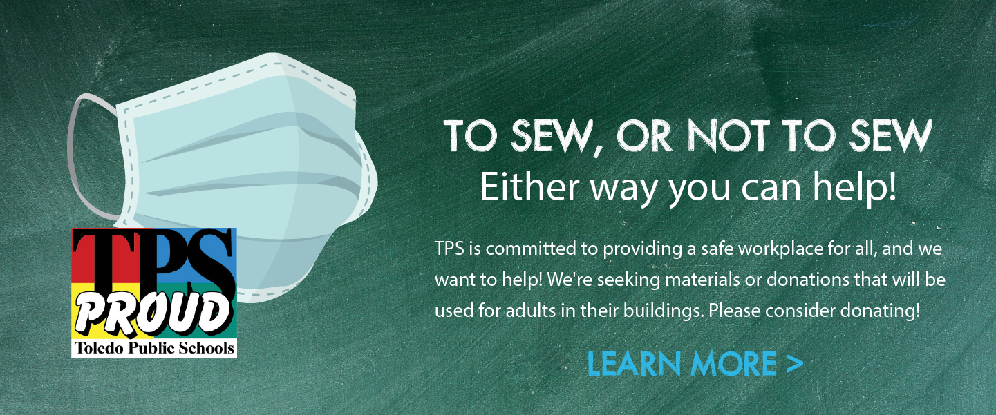 Seeking mask donations or volunteers to sew. Learn more...